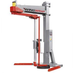 מכונת עטיפה זרוע מסתובבת חצי אוטומטית / אוטומטית מדגם WINGWRAP