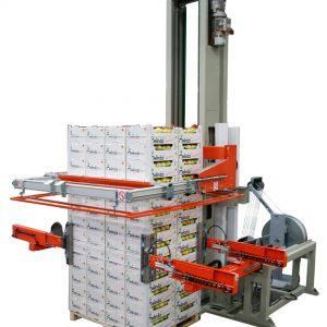 מכונה הוריזונטלית לקשירת משטחים מדגם GS06