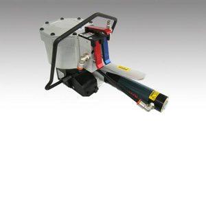 מכונת קשירה פנאומטית משולבת ללא סגרים לסרטי מתכת