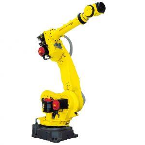 מגוון רובוטים תעשייתים תוצרת חברת FANUC הנותנים פתרונות איכותיים ליישומי PICK & PLACE .